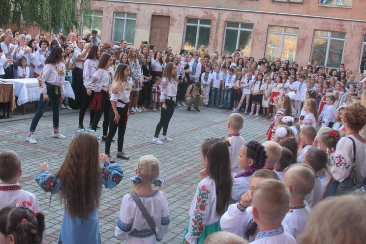 """Як у львівських школах святкували """"перши…"""