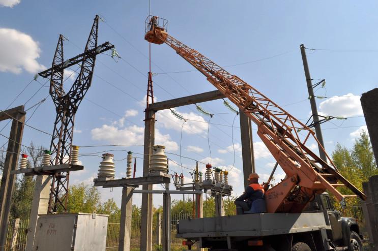 В Кропивницком ремонтируют подстанцию, ч…