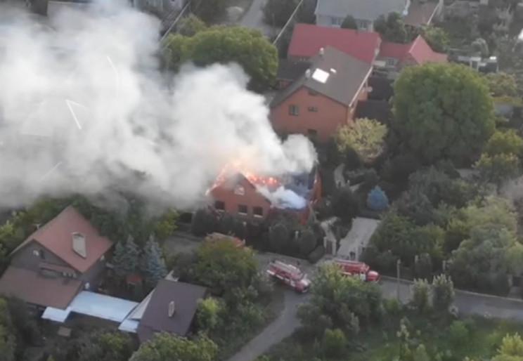 На Донбасі спалили будинок одного з вата…