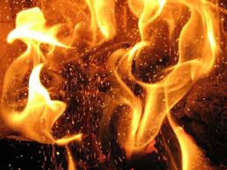 На Чернігівщині згоріла БМП…