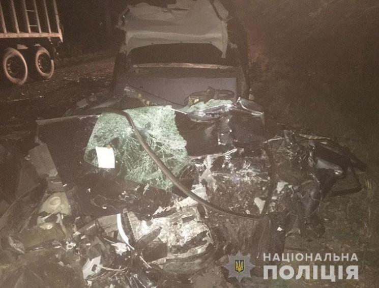 У Тернопільській області вантажівка розч…