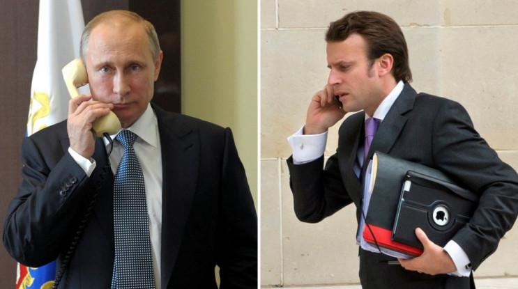 """Макрон і Путін домовилися про """"нормандсь…"""
