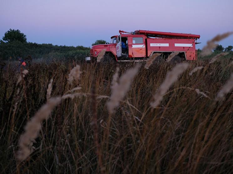 В Кропоткіні вигоріла трава на площі 250…