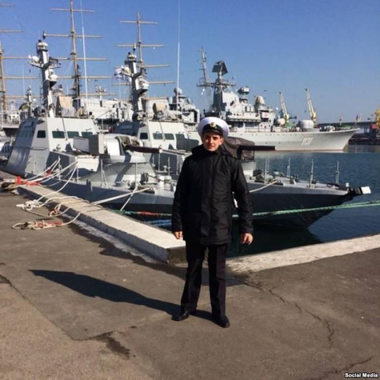 Освобожденный моряк Андрей Артеменко пол…