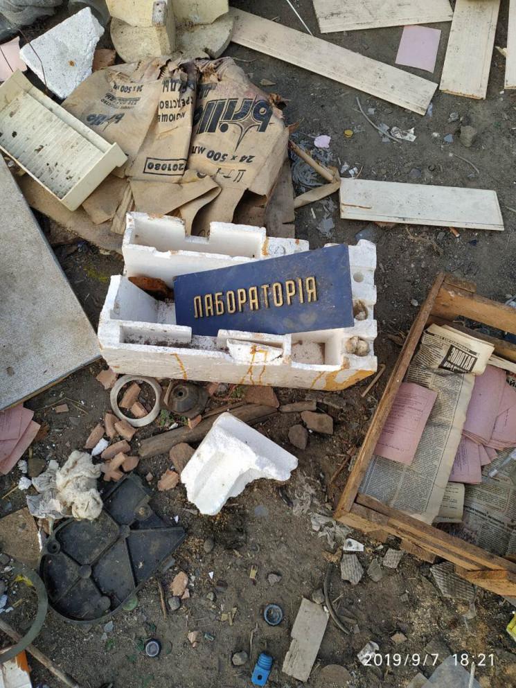 На сміттєзвалище на Вінниччині викинули…