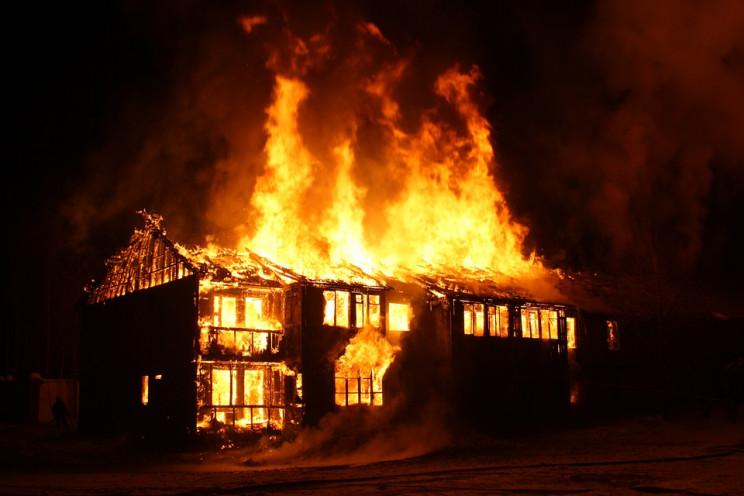 В Тихорєцькому районі згоріла сімейна па…