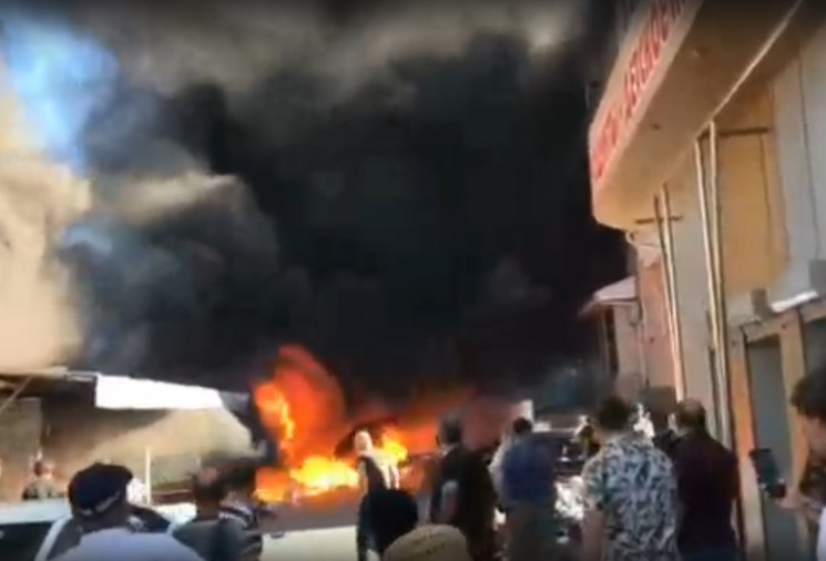 На ринку Геленджика сталася велика пожеж…