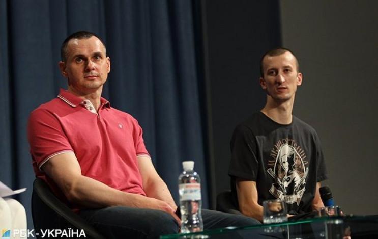 Перша прес-конференція на волі: Про що р…