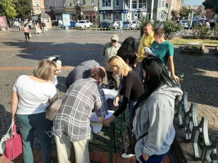Вийшли на протест: Мукачівців не влаштов…