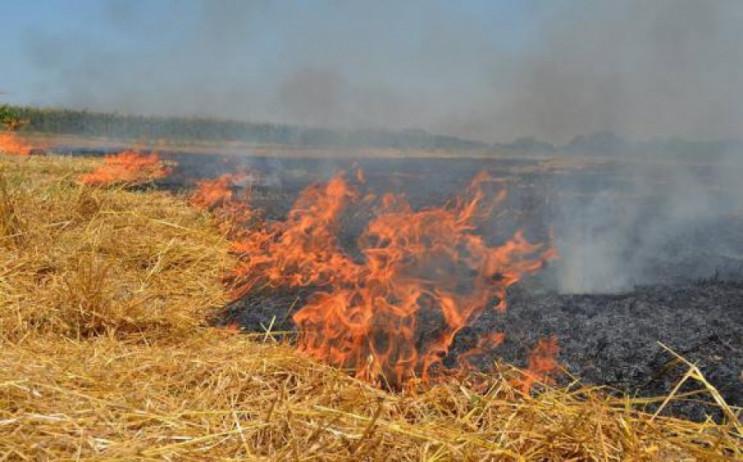 В полоні вогню: З початку року на Полтав…