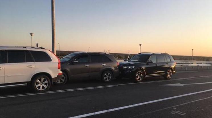 BMW X7 кримського мільйонера-перебіжчика…