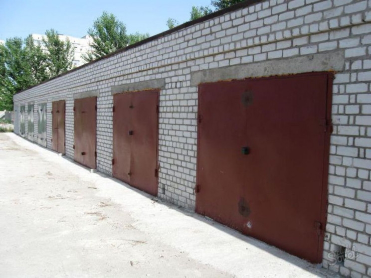 Один із гаражних коперативів Хмельницько…