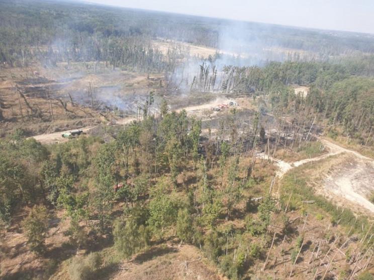 Генштаб показав масштаби пожежі на калин…