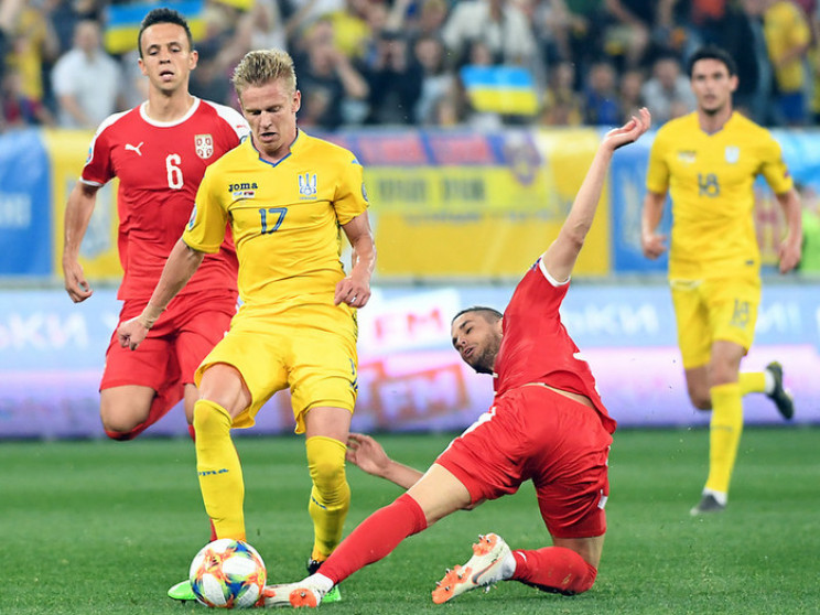 Определился лучший игрок матча Украина -…