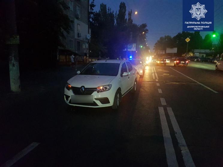 У Дніпрі автівка збила 13-річну порушниц…