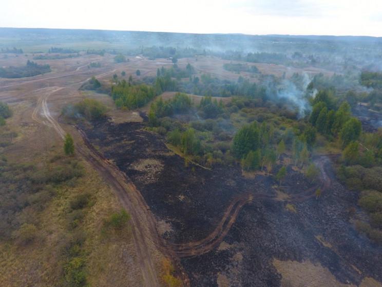 На Полтавщині тривають масштабні пожежі…