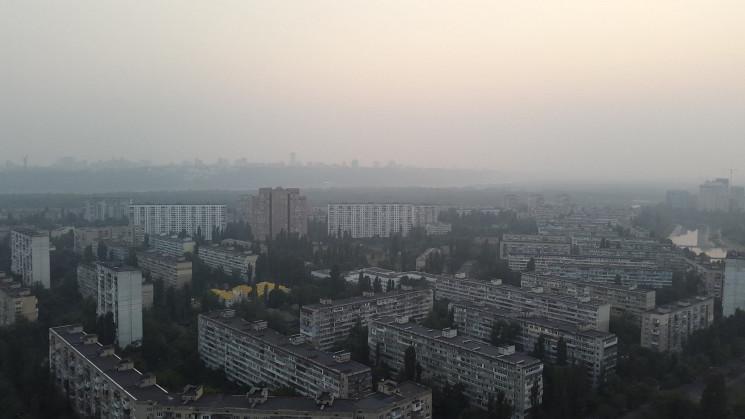 Осінній Київ в полоні смердючого смогу:…