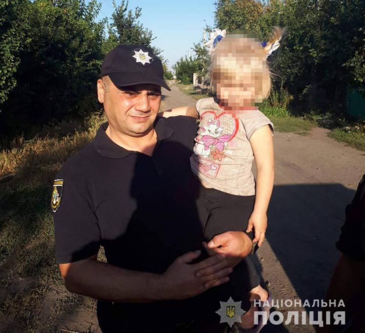 На Дніпропетровщині розшукали 3-річну ді…