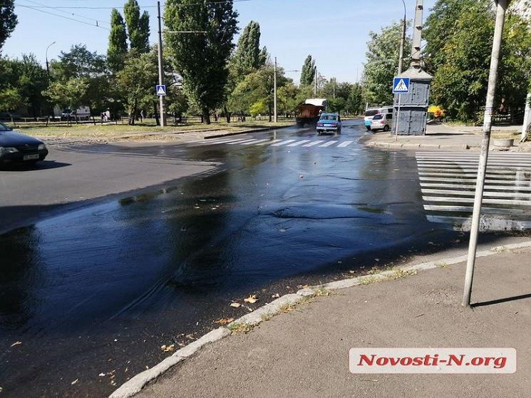 В центре Николаева из-за аварии произоше…