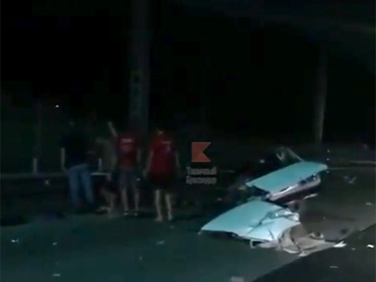 В Сочі внаслідок аварії загинула людина…
