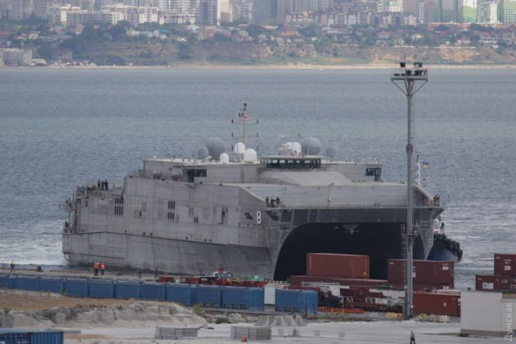 У Чорне море йде військовий корабель США…