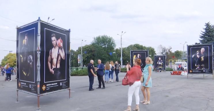 У центрі Дніпра встановили банери із рят…