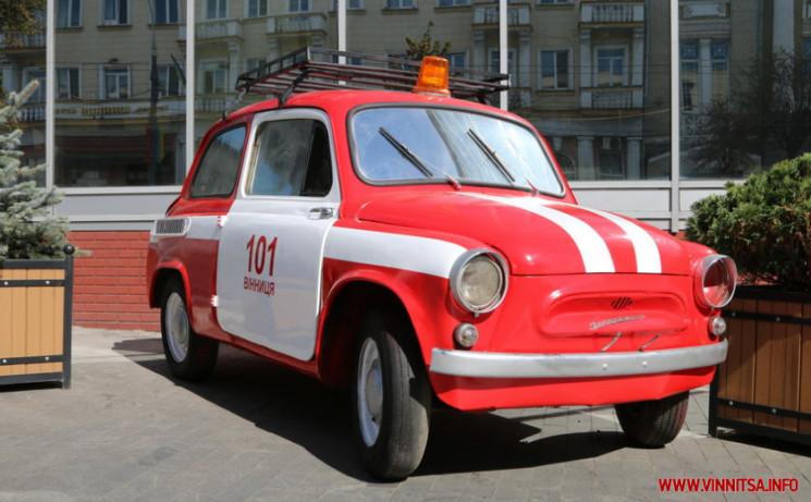 У центрі Вінниці встановили пожежний рет…