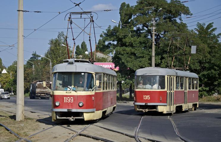 У Дніпрі обмежать рух трамваїв на лівий…