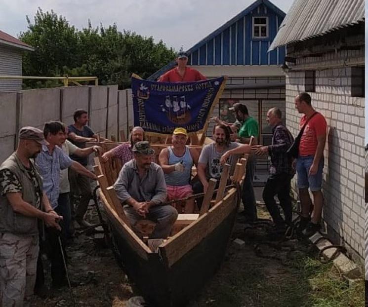 У місті поряд із Дніпром на подвір'ї буд…