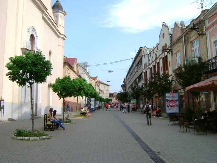 Сталося: З центральної частини Ужгорода…