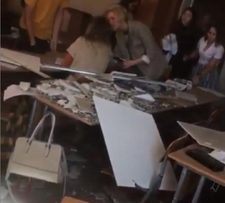 На Кубані на учнів школи обвалилася стел…