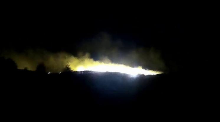 У Криму горить сухостій на величезній пл…
