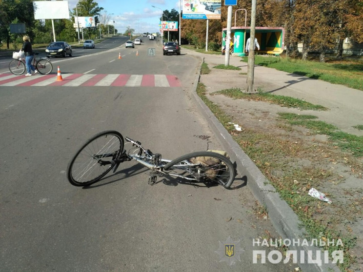 В Павлограде автомобиль сбил велосипедис…