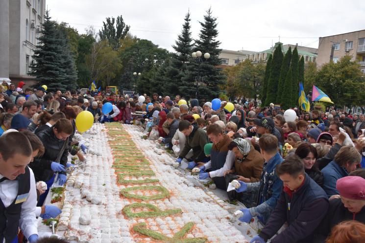 Как в Кропивницком на День города угощал…