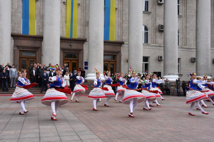 Как в Кропивницком празднуют День города…