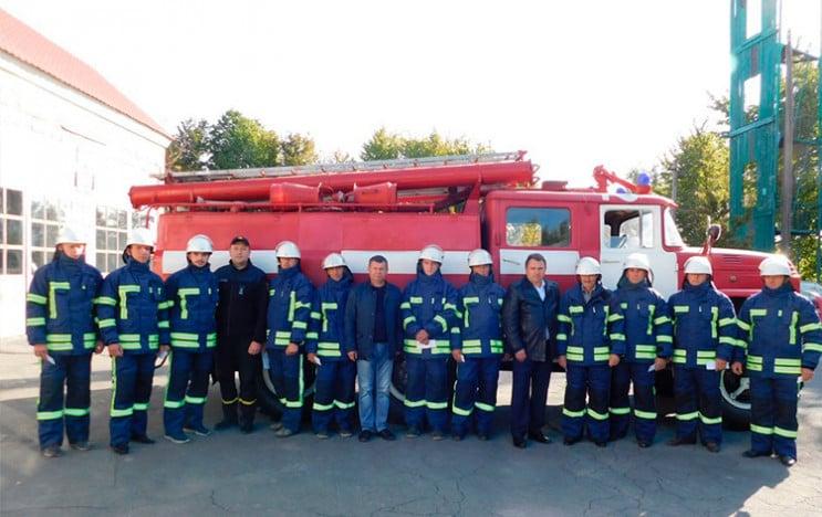 Добровольці-вогнеборці Хмельниччини скла…