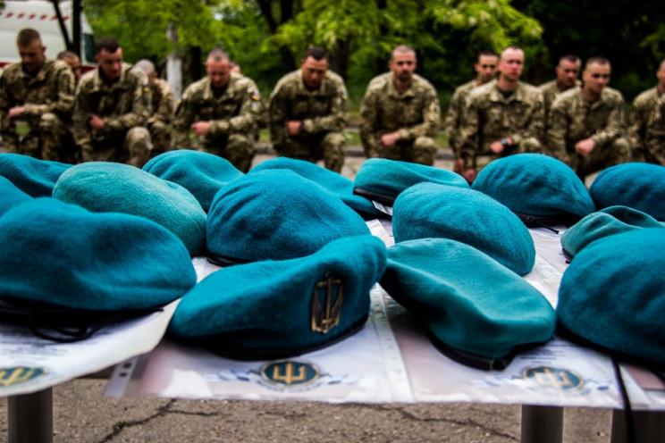 Одесская бригада морской пехоты отметила…