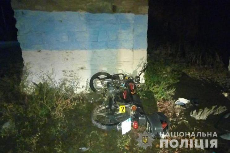 У ДТП на Тернопільщині загинув мотоциклі…