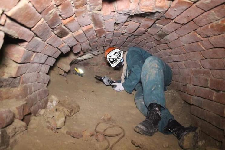 В центрі Вінниці знайшли розгалужену сис…