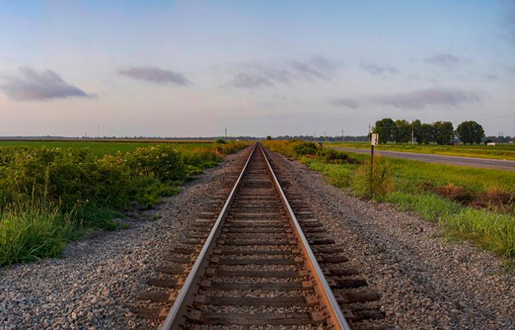 Строительство железной дороги на Луганщи…