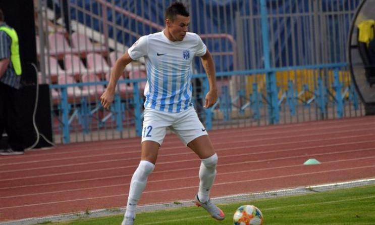 Футболіст амбіційного українського клубу…