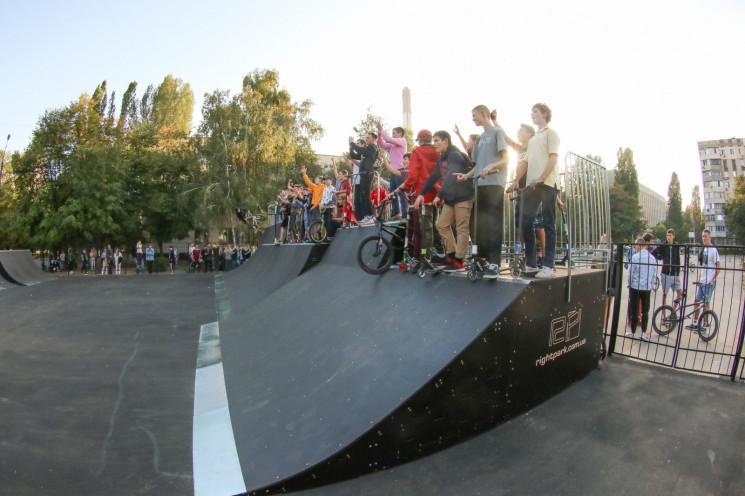 На Котовського оновили скейт-парк…