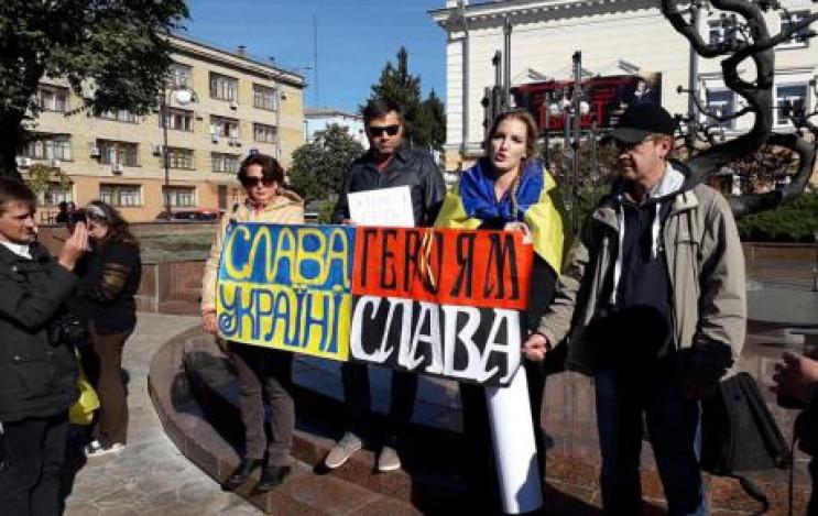 У Вінниці розпочалася безстрокова акція…