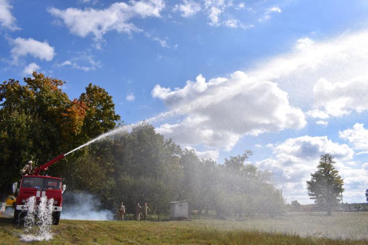 Огнеборцы-авиаторы из Хмельнитчины готов…