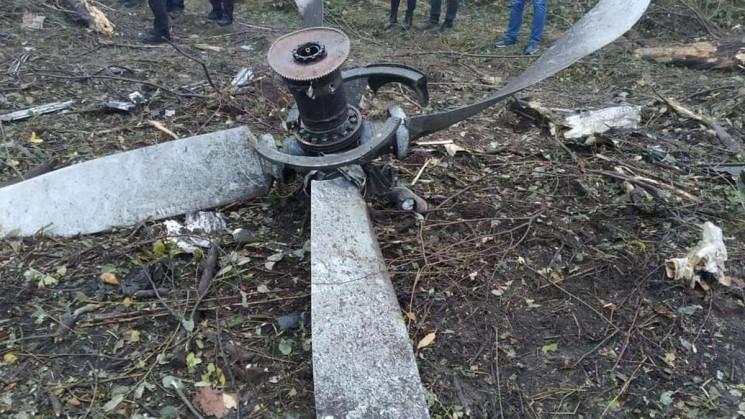 На месте аварии самолета во Львове обнар…