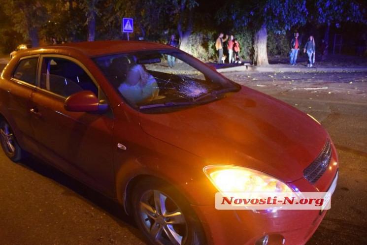 У центрі Миколаєва жінка-водій KIA збила…