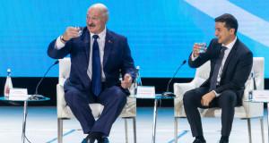 Перша зустріч Зеленського з Лукашенком:…