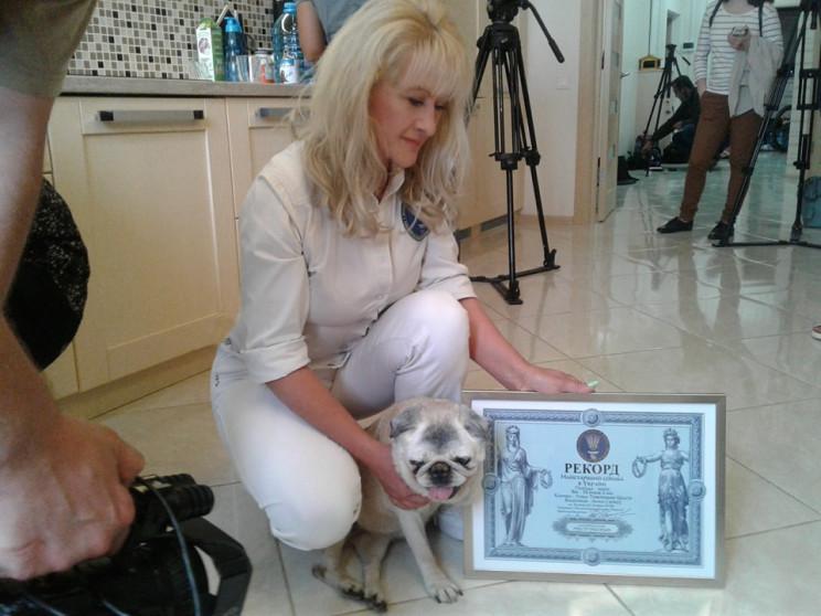 У Харкові помер найстарший собака країни…