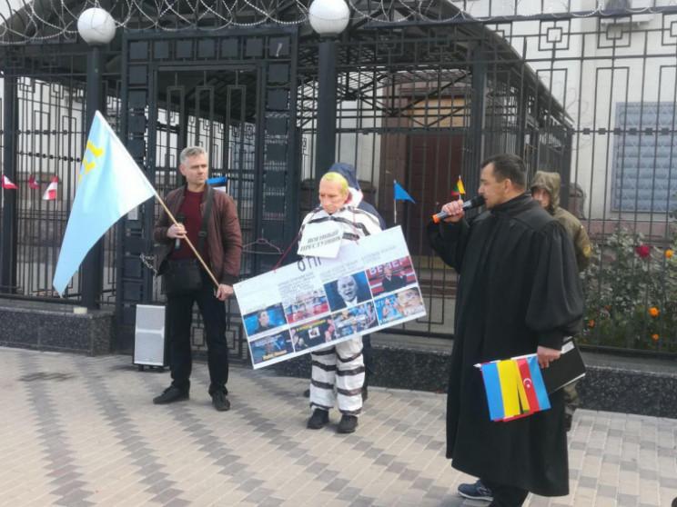 "Видео дня: ""Суд"" над Путиным и суд над П…"