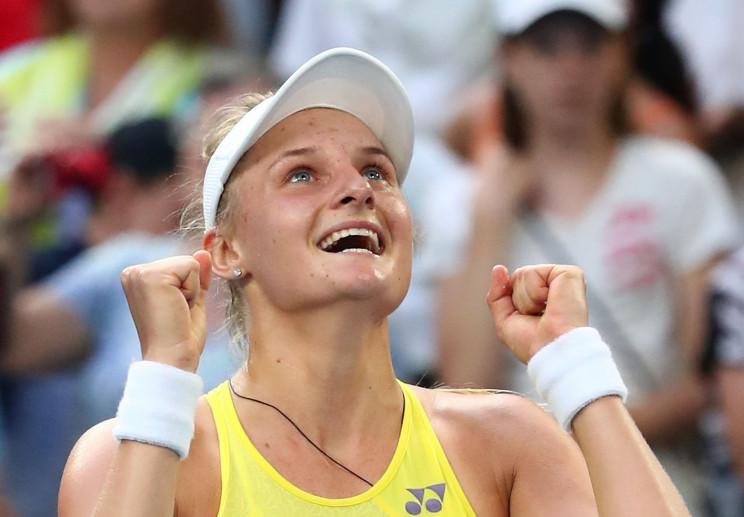 Українська тенісистка Ястремська феєричн…
